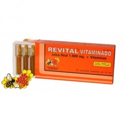 REVITAL JALEA REAL VITAMINADA 20 AMPOLLAS BEBIBL