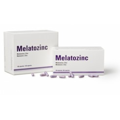 MELATOZINC 1MG 120 CAPS
