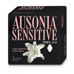 AUSONIA SENSITIVE ALAS NORMAL  14 UD