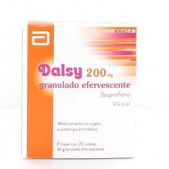 DALSY 200 MG 20 SOBRES EFERVESCENTES