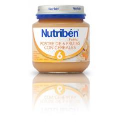 NUTRIBEN INICIO POSTRE 6 FRUTAS CEREALES 130 G