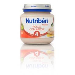 NUTRIBEN INICIO POLLO CON ARROZ 130 G.