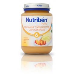 NUTRIBEN MANZANA MELOCOTON /CEREALES 200 G