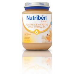 NUTRIBEN POSTRE  6 FRUTAS CEREALES 200G
