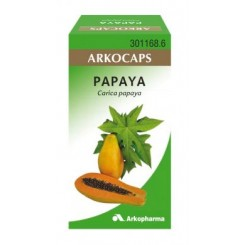 ARKOCAPS PAPAYA 300 MG 42 CAPSULAS