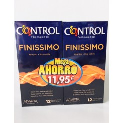 CONTROL FINISSIMO PACK AHORRO 12+12 UNID.
