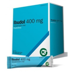IBUDOL 400 MG 20 SOBRES SUSPENSION ORAL