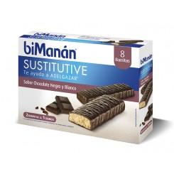 BIMANAN BARRITA CHOCOLATE NEGRO BLANC 8U
