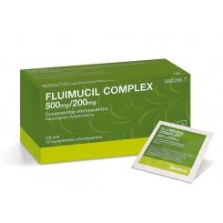 FLUIMUCIL COMPLEX 500/200 MG 12 COMPRIMIDOS EFER