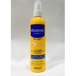 MUSTELA BEBE SPRAY MINERAL SOLAR 50+ SPF 300 ML