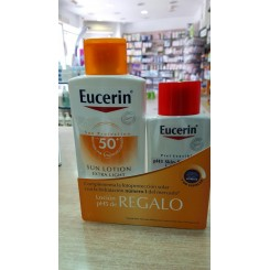 EUCERIN SUN SPF50+ LOTION EXTRA LIGHT 400 ML