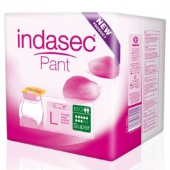 INDASEC PANT PLUS UNDS T.GRANDE 100-140CM