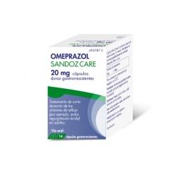 OMEPRAZOL SANDOZ CARE EFG 20 MG 14 CAPSULAS OTC
