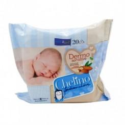 CHELINO FASHION & LOVE TOALLITAS INFANTILES 20 T
