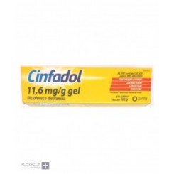 CINFADOL 10 MG/G GEL TOPICO 60 G
