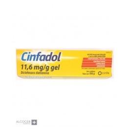 CINFADOL 10 MG/G GEL TOPICO 60 G