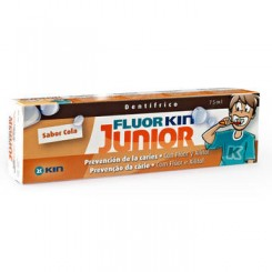 FLUOR KIN JUNIOR COLA 75 ML PASTA