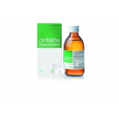 CINFATOS EXPECTORANTE 2/10 MG/ML JARABE 125 ML