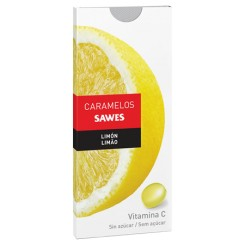SAWES CARAMELOS LIMON S/A BLISTERS