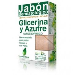 SANASUR JABON GLICERINA Y AZUFRE 100 G