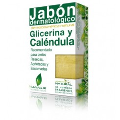 SANASUR  JABON GLICERINA Y CALENDULA 100 G