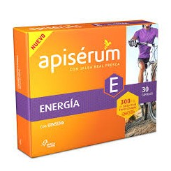APISERUM ENERGIA GINSENG 30 CAPS