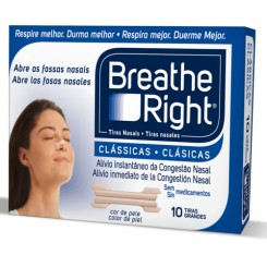 BREATHE RIGHT CLASICA   PEQ-MED 30 U