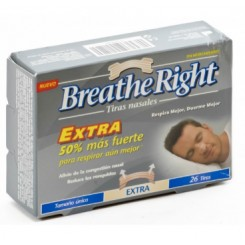 BREATHE RIGHT EXTRA TIRA NASAL 26 U