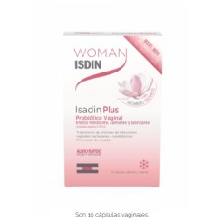 WOMAN ISDIN ISADIN PLUS 10 CAPSULAS VAGINALES