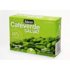 SUVEO CAFE VERDE SALVAT 60 CAPS