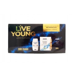 Pack Isdin Live Young Antimanchas Spot Prevent + Ampollas Pigment