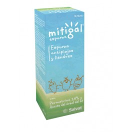 MITIGAL ESPUMA ANTIPIOJOS Y LIENDRES 100 ML