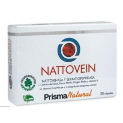 NATTOVEIN 20 CAPS PRISMA NATURAL