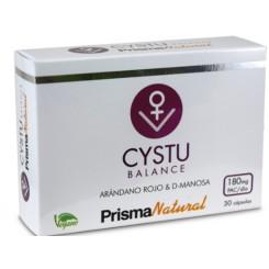 CYSTU BALANCE 30 CAPS PRISMA NATURAL