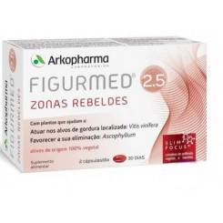 FIGURMED 2.5 ZONAS REBELDES 60 CAPS