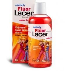 FLUOR LACER DIARIO 500 ML.  FRESA