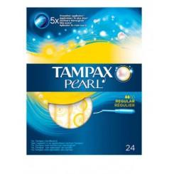 TAMPONES TAMPAX PEARL REGULAR 24 UDS
