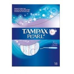 TAMPONES TAMPAX PEARL LITES 18 UD