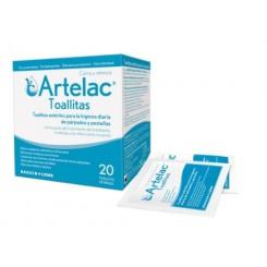 ARTELAC TOALLITAS ESTERILES LIMPIEZA PARPADOS 20