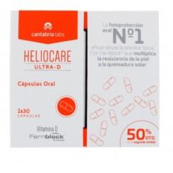HELIOCARE CAPS ULTRA D PACK DUPLO 50% 2 UN