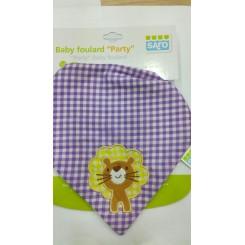SARO BABERO BABY FOULARD PARTY +3-9 M REF:1650